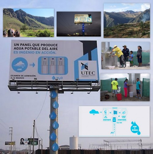 PERU BILLBOARD WATER