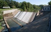 LAKE ROLAND DAM
